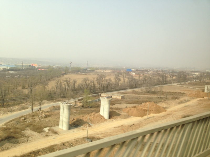 Shanxi HSR Works Site