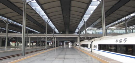 Tianjin West Station Platforms