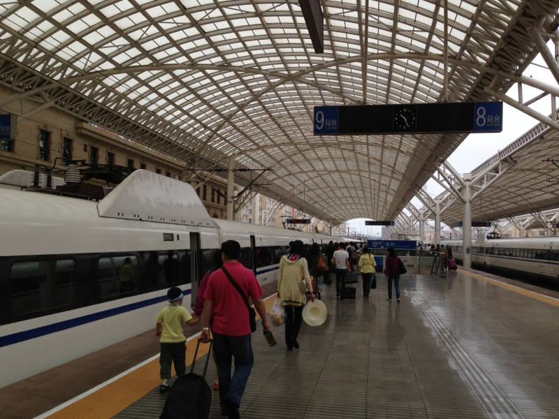 Qingdao Railway Station Passengers
