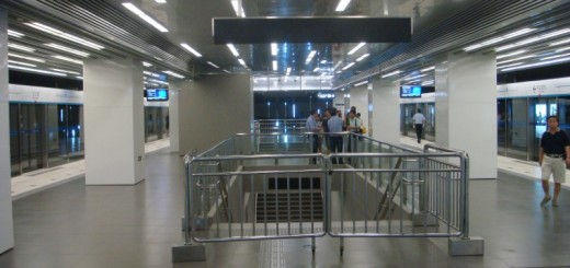 Beijing Subway Line 8 Closed