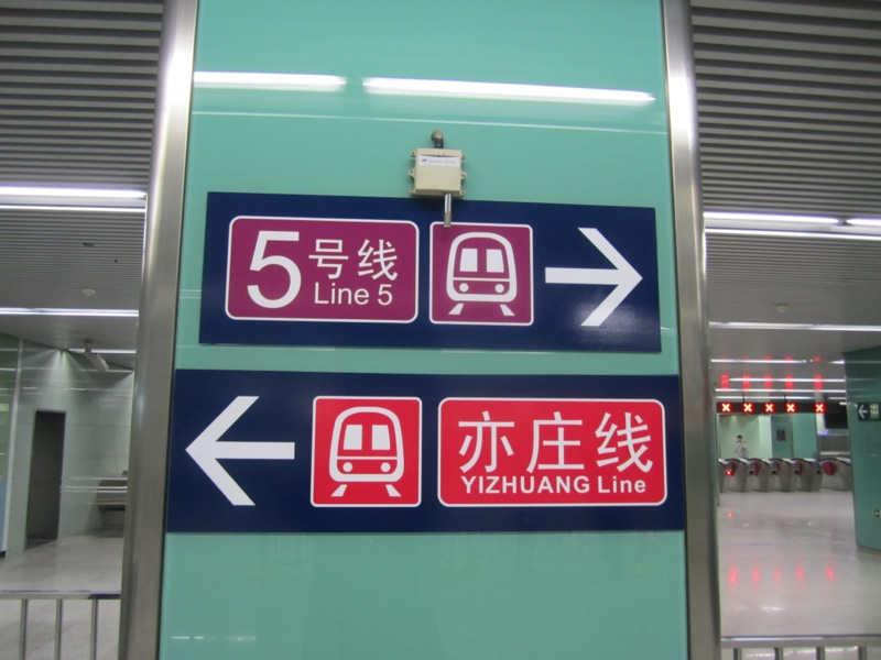Beijing Subway Interchange