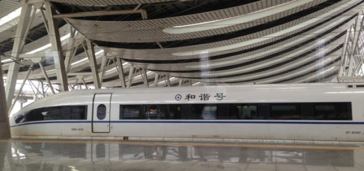 HSR at Beijing South