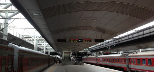 Trains at Kunming Railway Station