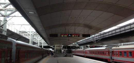Trains at Kunming Railway Station