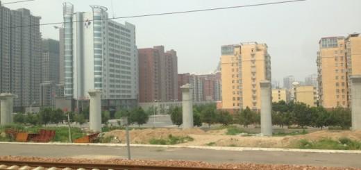 Zhengzhou HSR Being Built