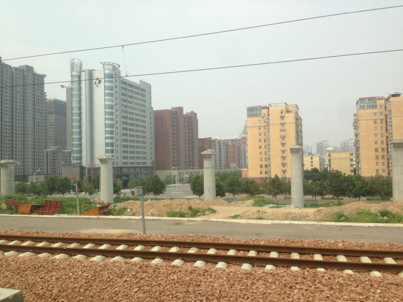 Zhengzhou HSR Being Built