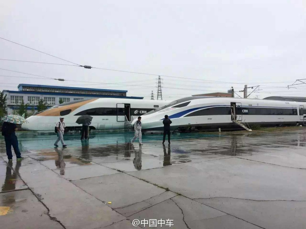 CRH350 China Trains